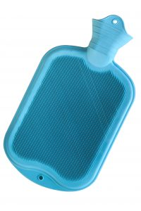Heat is easiest applied with a Hot Water Bottle