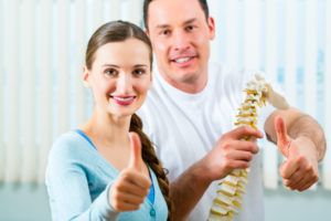 AHappy Doctor or Osteopathy or Chiropractic